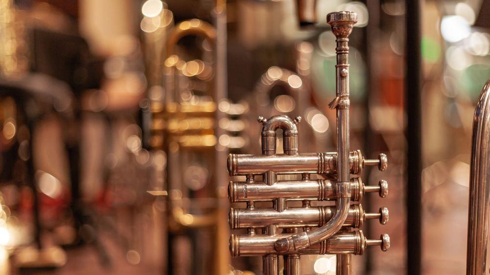 Eine Trompete