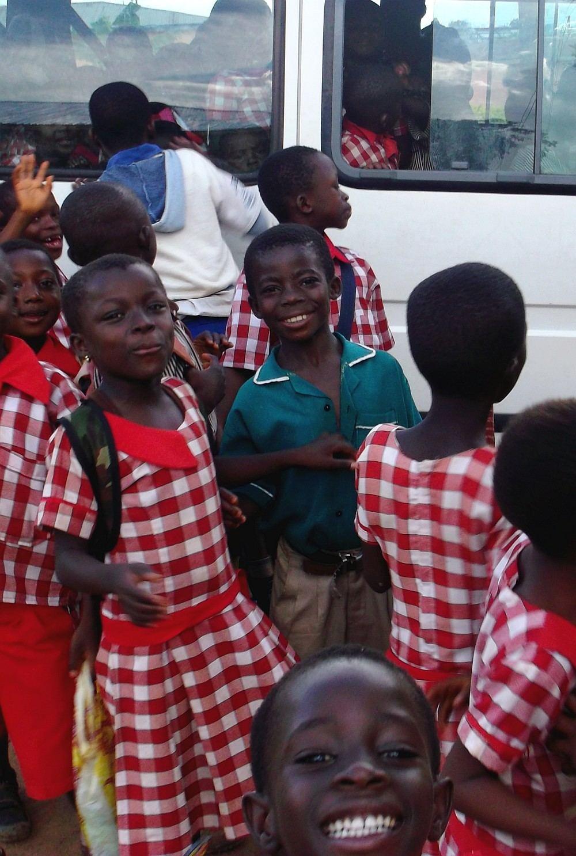 Kinder der Hans-Joachim-Janke-School