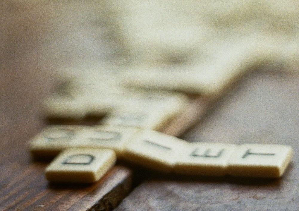 Buchstabensteinchen