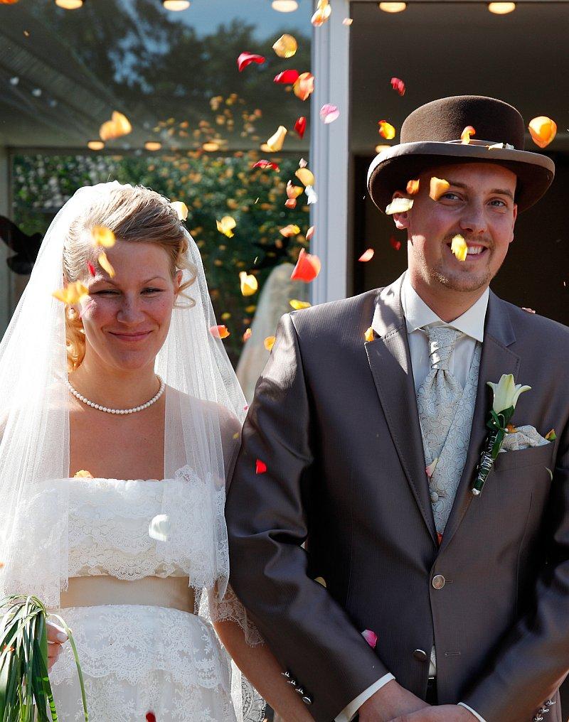 Brautpaar Carolyn und Marcel